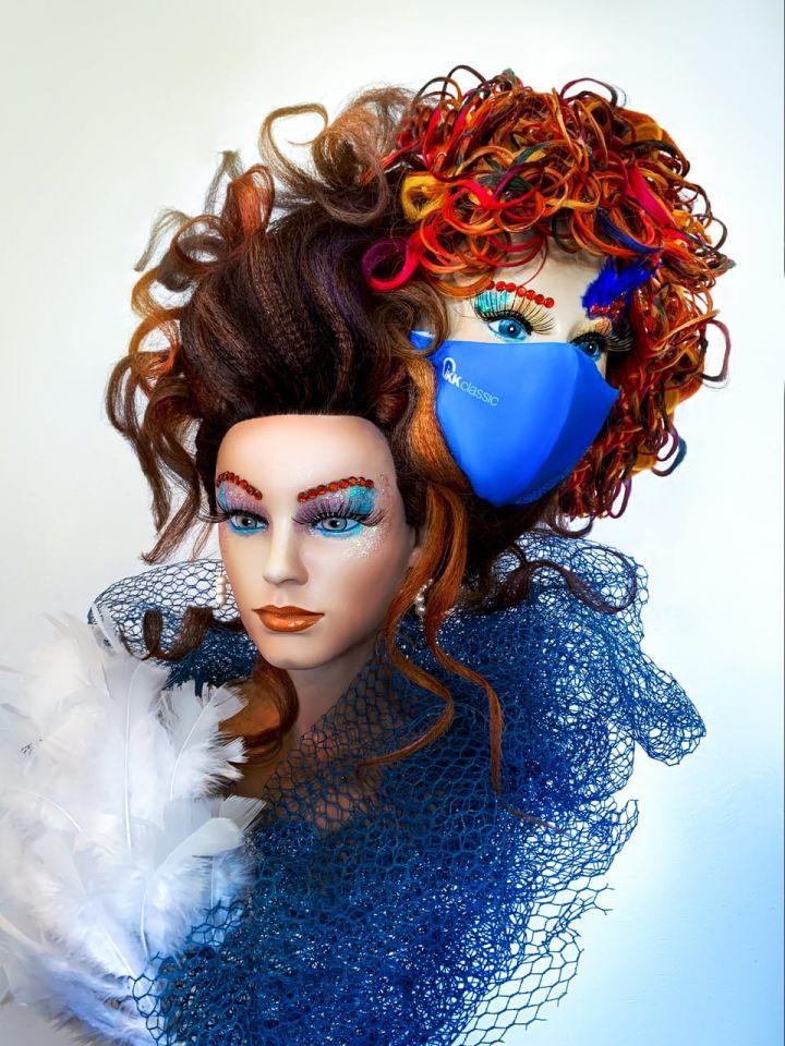Friseursalon Steeg Maske