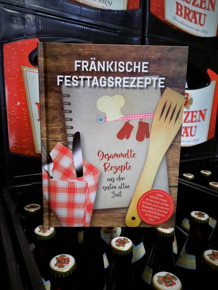 Fränkische Festtags-Rezepte im Kochbuch der Kauzen-Bräu