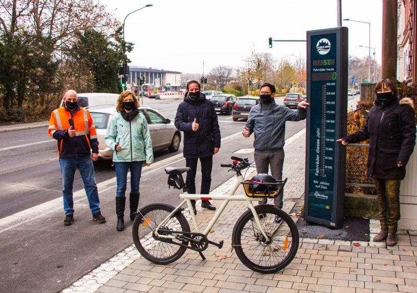 Radweg Radachse 3 Röntgenring Würzburg