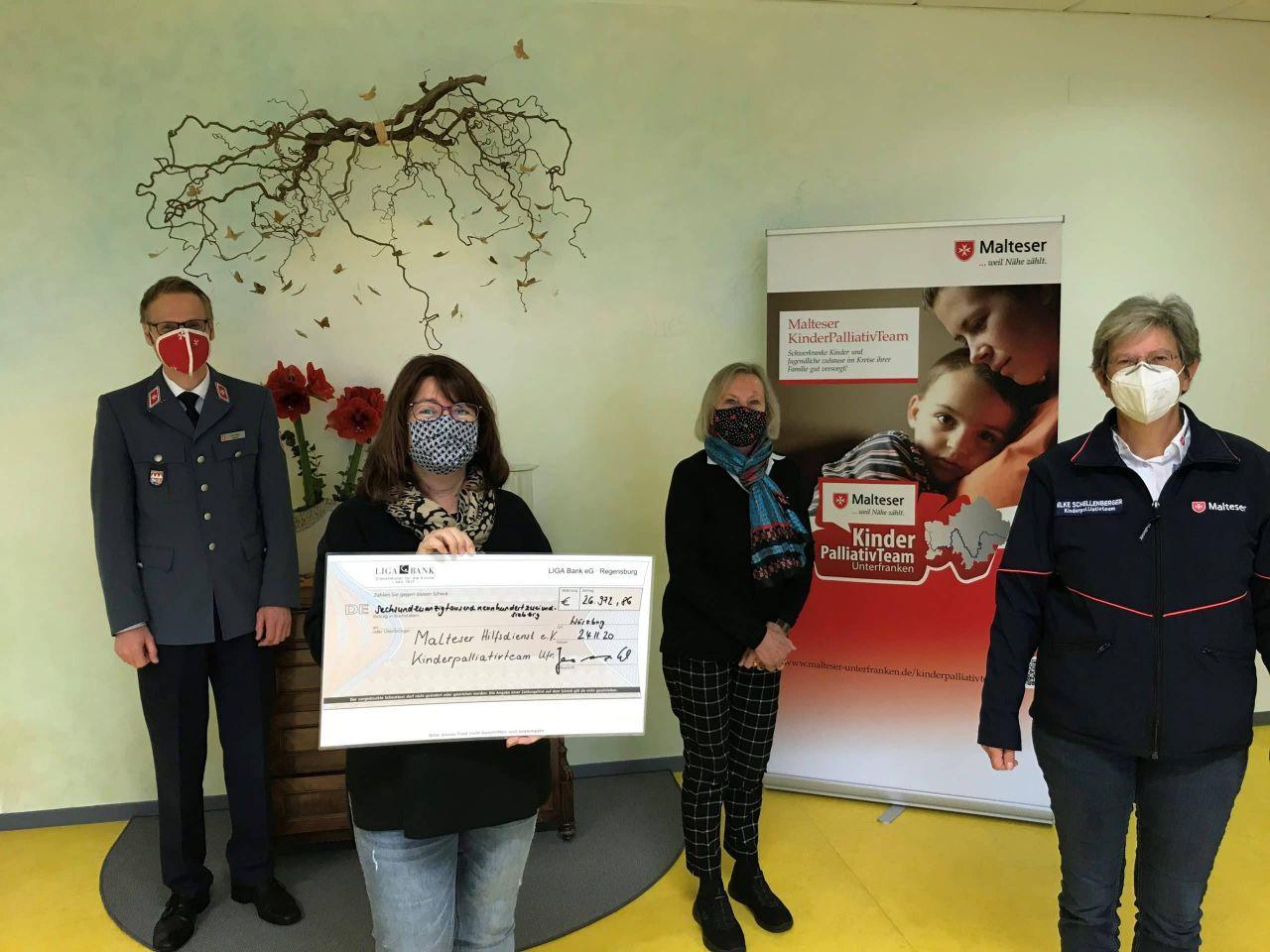 Spende Elterninitiative Malteser Kinderpalliativteam