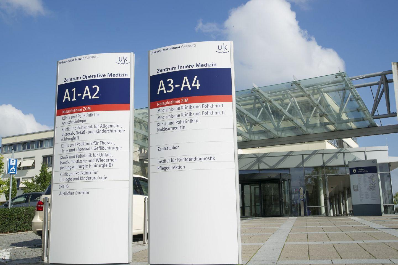 Uniklinik Würzburg verhängt Besuchsverbot