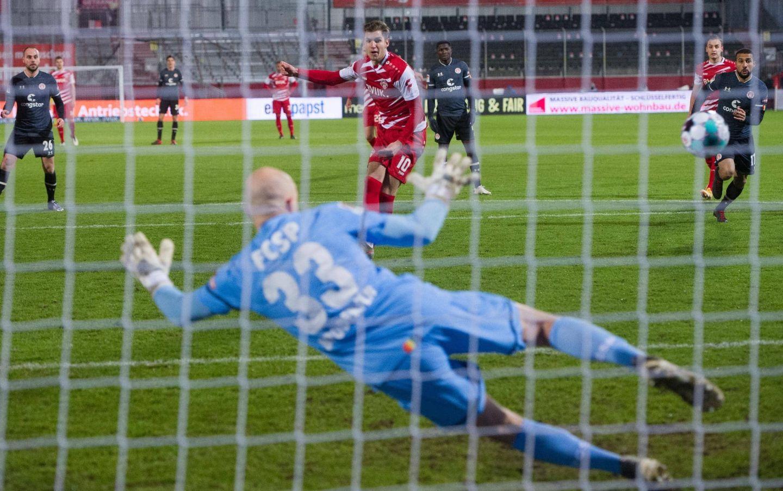 Würzburger Kickers in Überzahl nur 1:1 gegen FC St. Pauli