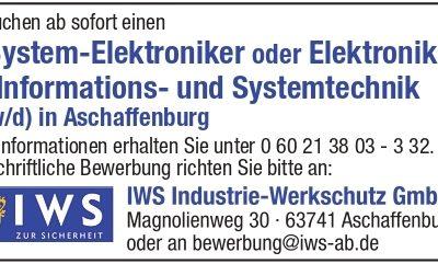IWS Elektroniker