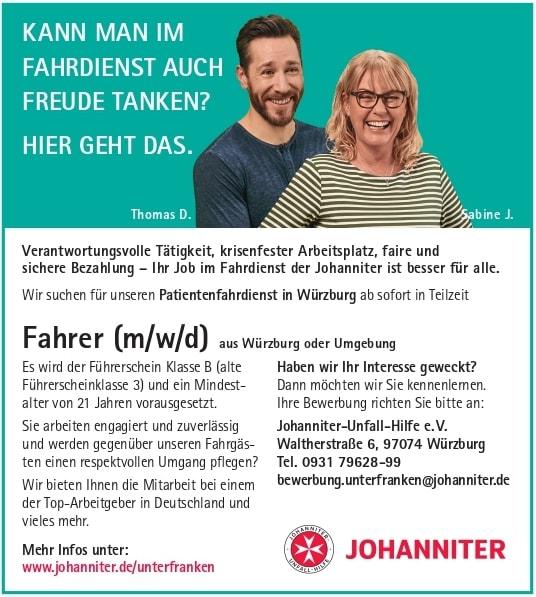 Johanniter Fahrdienst