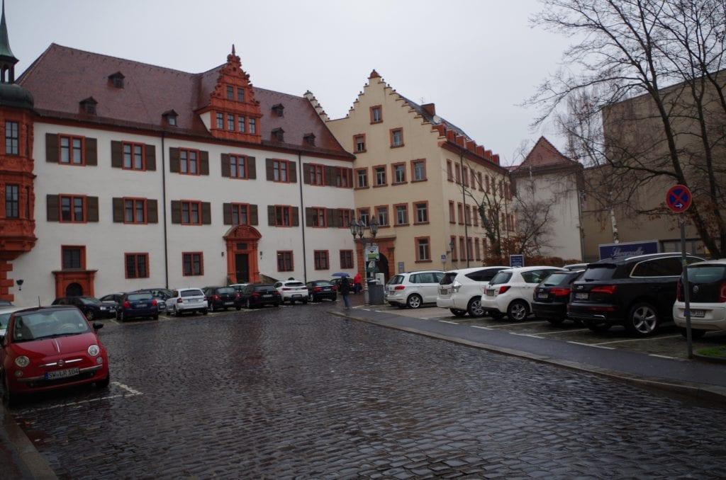 Parkplätze Paradeplatz Kardinal-Döpfner-Platz
