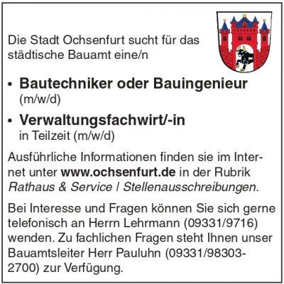 Stellenportal Stadt Ochsenfurt