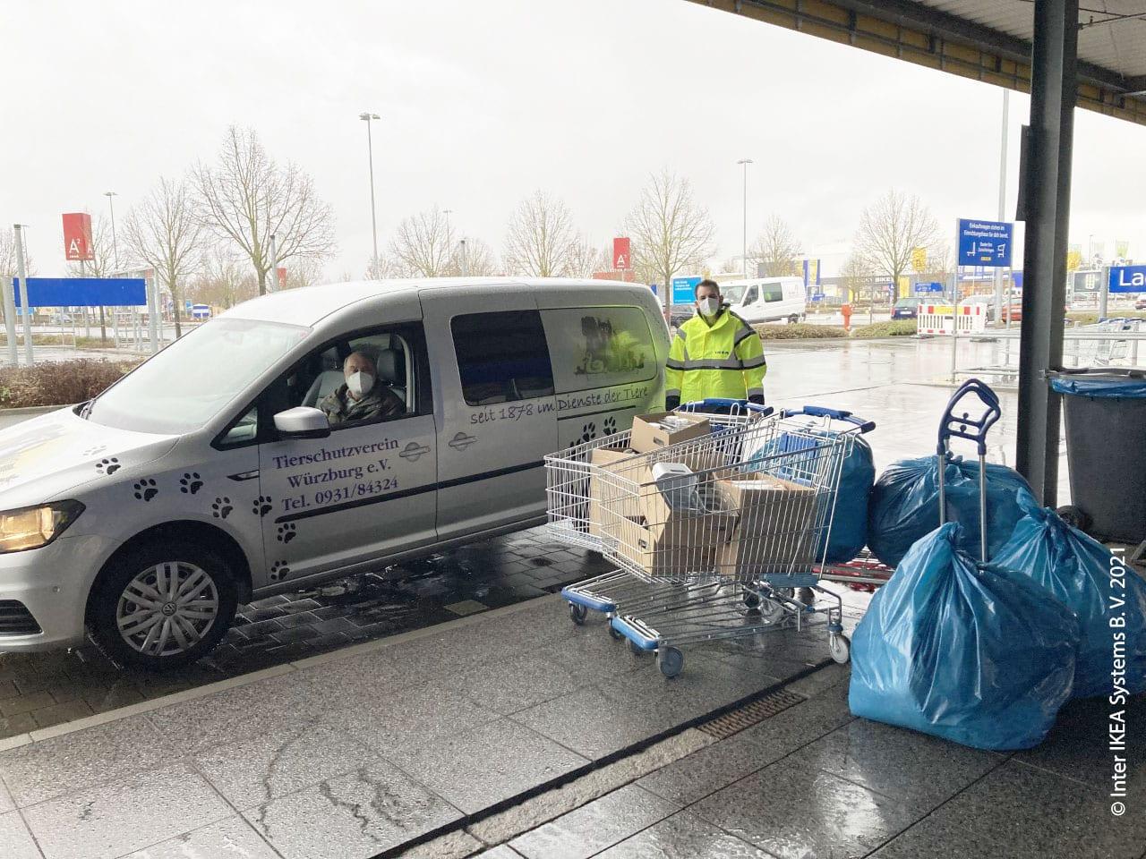 IKEA Spende Tierschutzverein