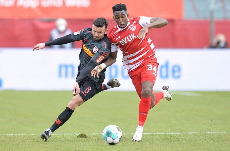 Kickers 1:1 gegen Regenburg