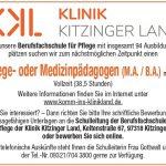 Berufsfachschule für Pflege der Klinik Kitzinger Land