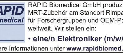 RAPID Biomedical Elektroniker