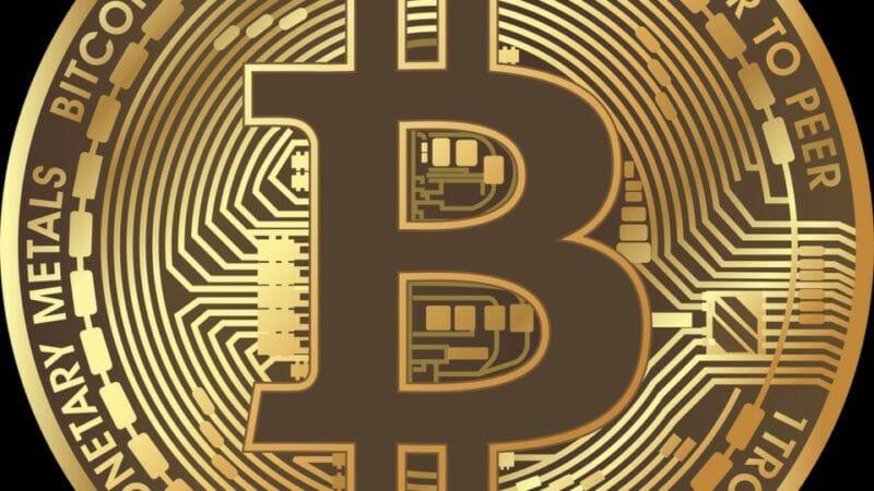 Geld-Bitcoin-Kryptowährungen