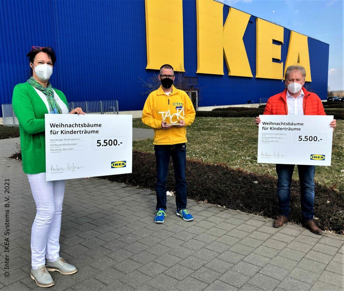 IKEA Würzburg unterstützt die Kindertafel