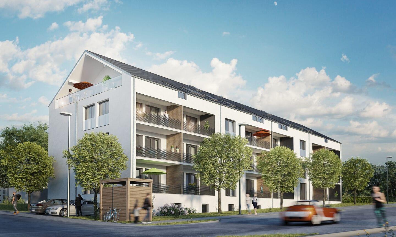 """Wohnen mit """"MaintalBlick"""": Neubau-Eigentumswohnungen in Veitshöchheim"""