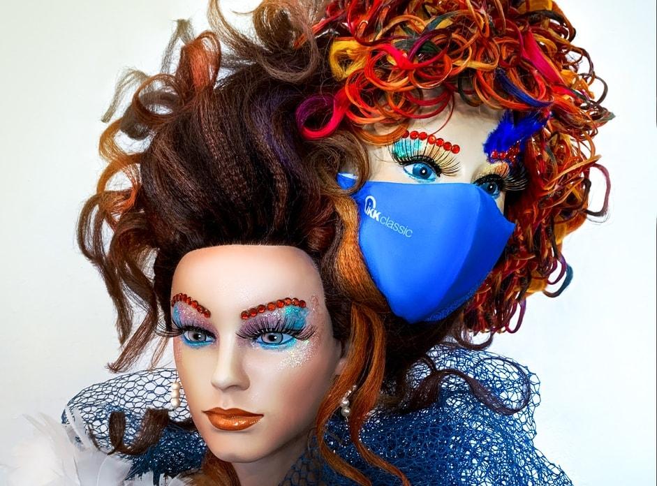 Sophia vom Friseursalon Steeg zaubert Bayerns beste Maskenfrisur