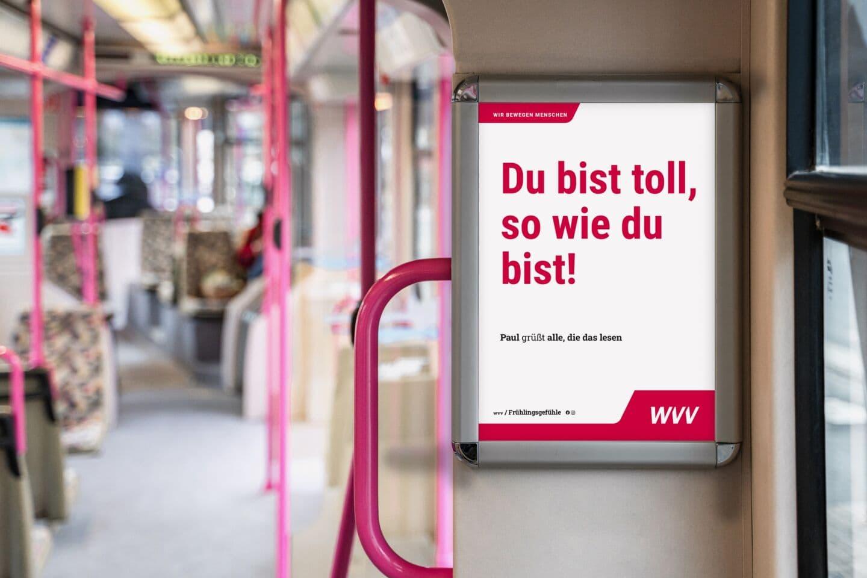 WVV: Frühlingsgefühle in Bussen und Straßenbahnen