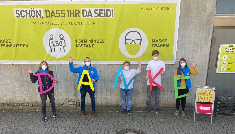 Wärmehalle Würzburg: Danke für die Unterstützung!