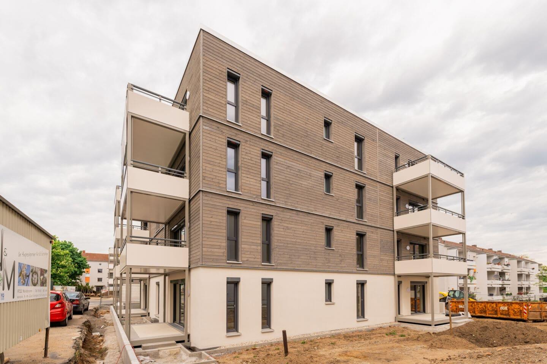 Bezahlbares Wohnen in Würzburg: Holz-Hybrid-Häuser in der Zellerau