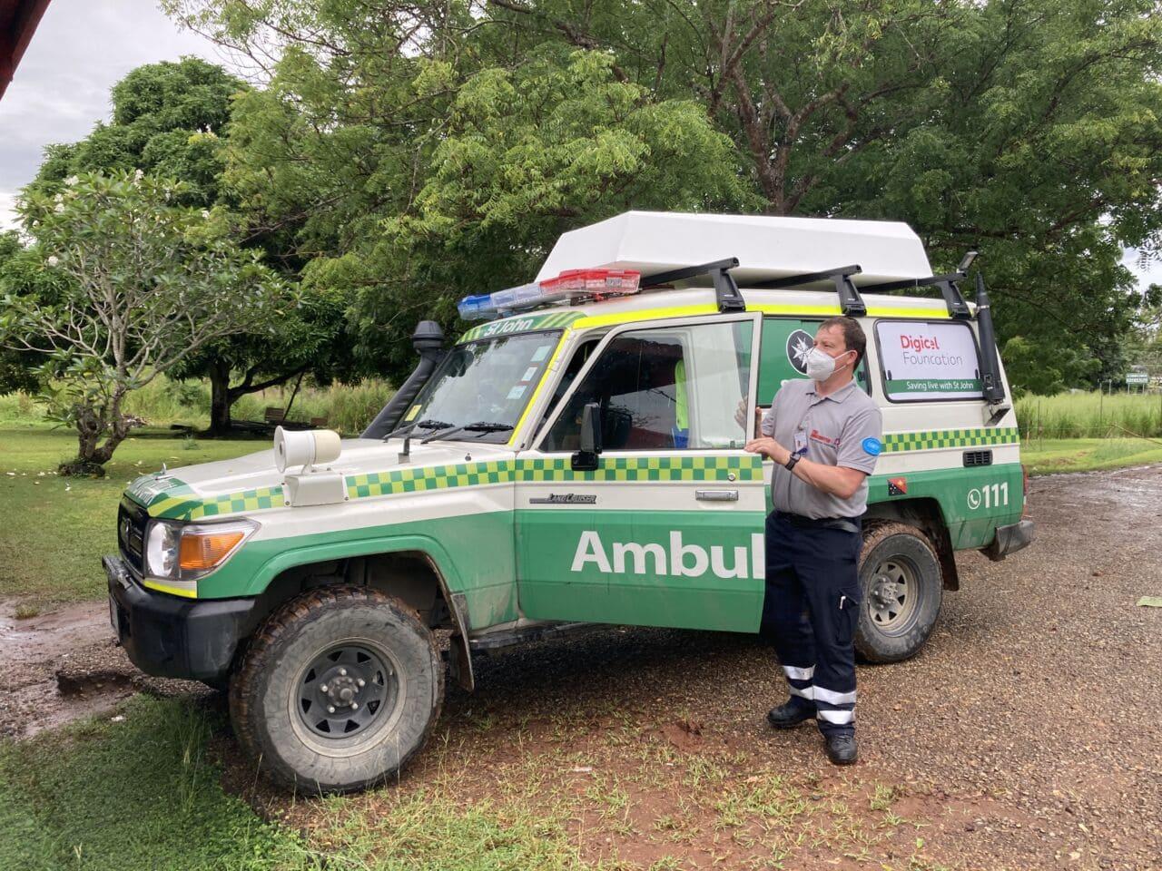 Kampf gegen Corona: Johanniter in Papua Neuguinea