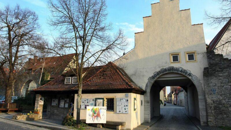 Das Torturmtheater in Sommerhausen ist eines der kleinsten Theater Deutschlands.
