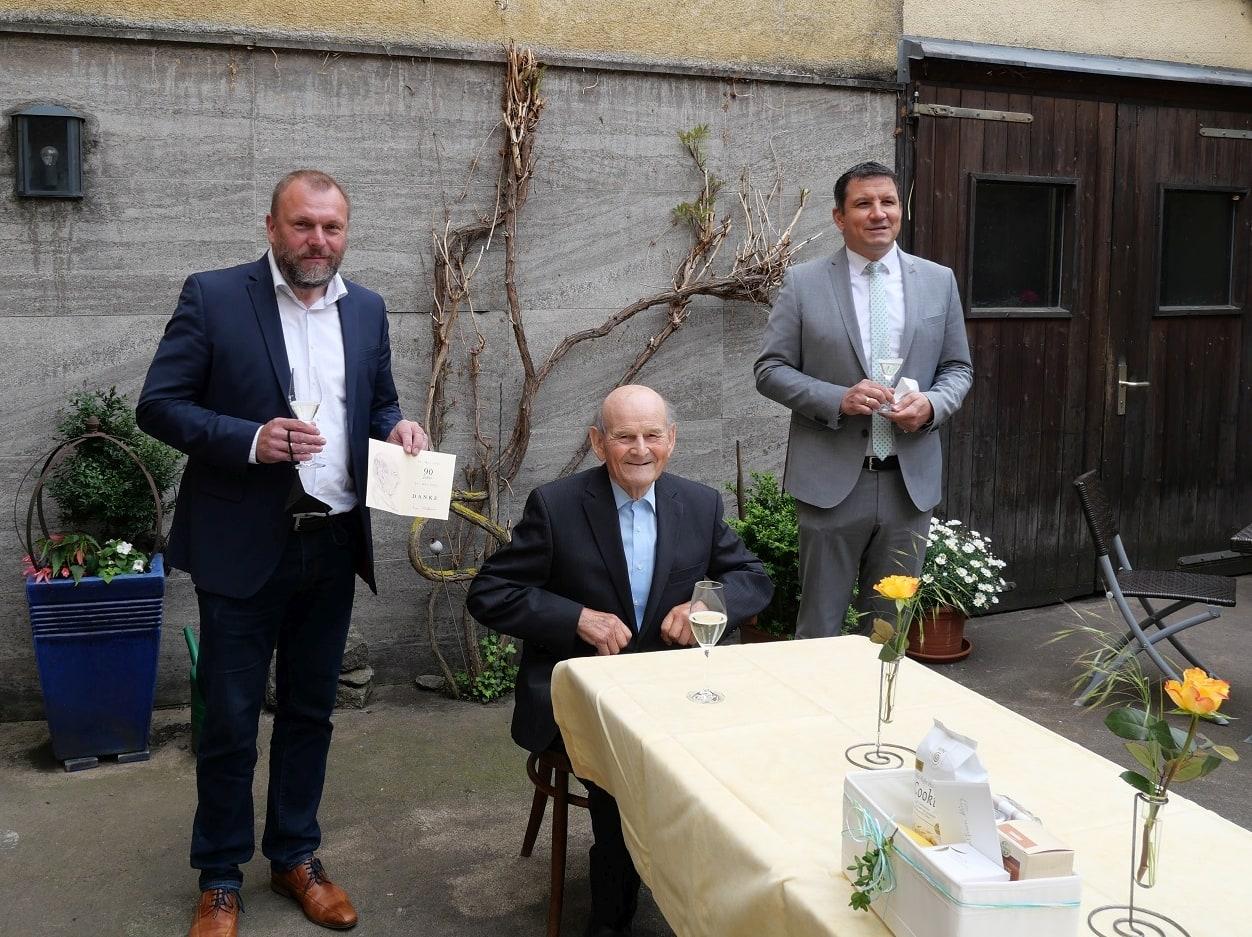 Randersacker: Ehrenbürger Wolfram König feiert 90. Geburtstag