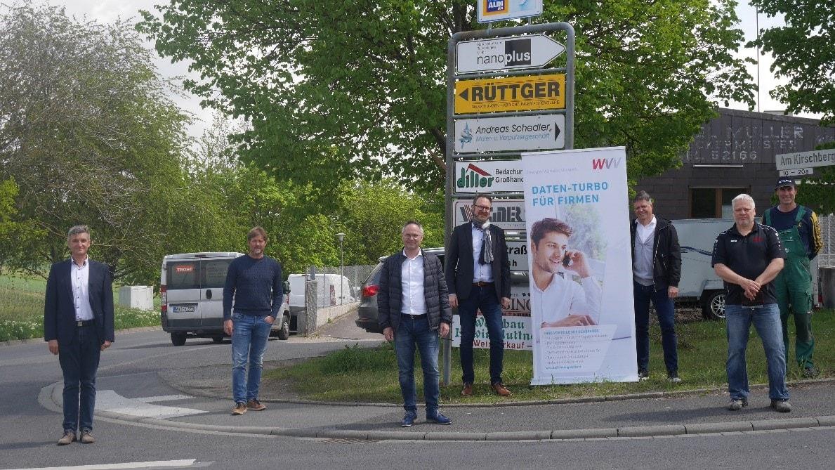 WVV baut Glasfaser-Netz in Gerbrunn aus