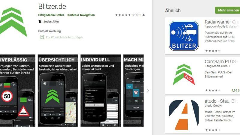 Blitzer-Apps