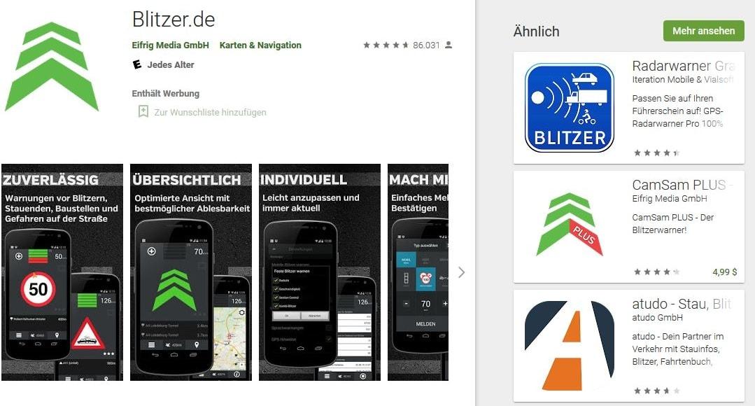 Jeder Dritte nutzt im Auto illegal Blitzer-Apps
