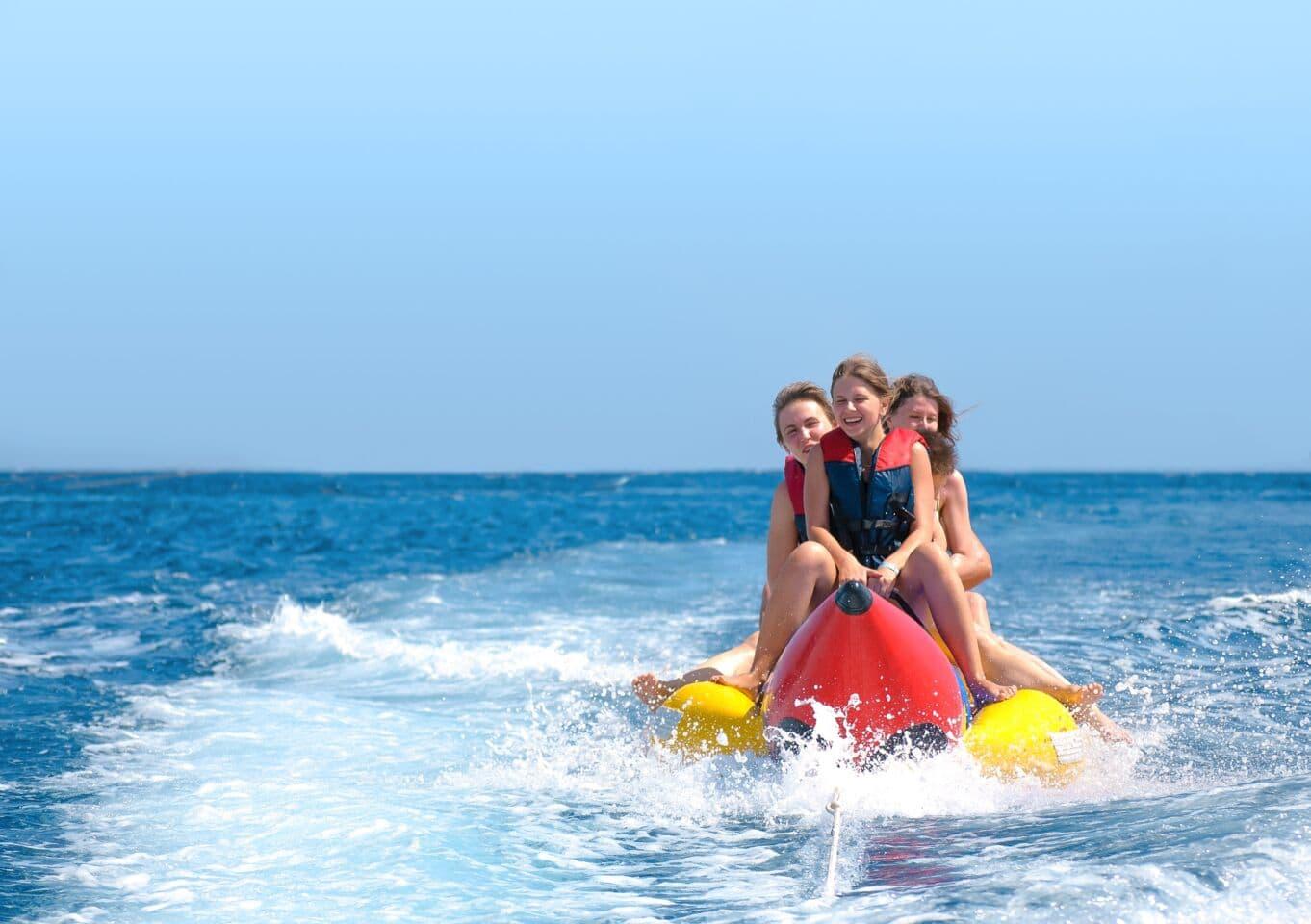 Auf dem Bananaboat in die Sommerferien