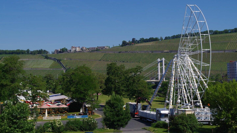 Kiliani-2021-Biergarten-Riesenrad