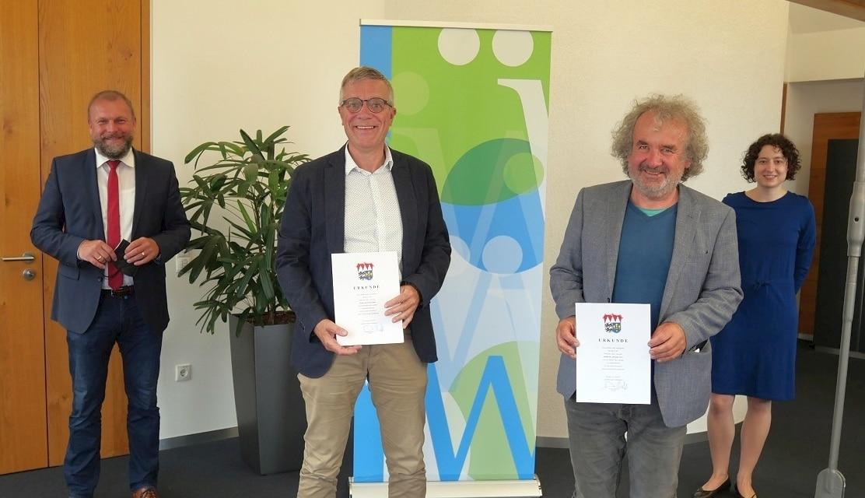 Zwei neue Naturschutzwächter für den Landkreis Würzburg