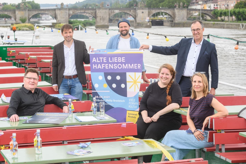 Alte Liebe Hafensommer: 2021 legt der Hafensommer in Würzburg ab
