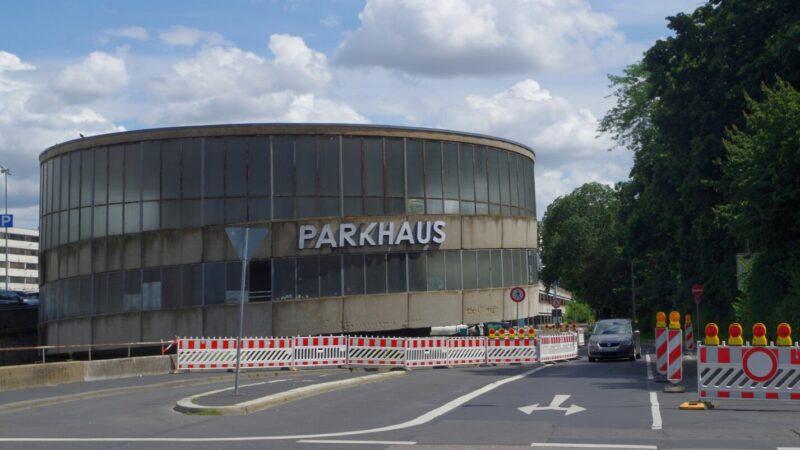 Quellenbach-Parkhaus-geschlossen