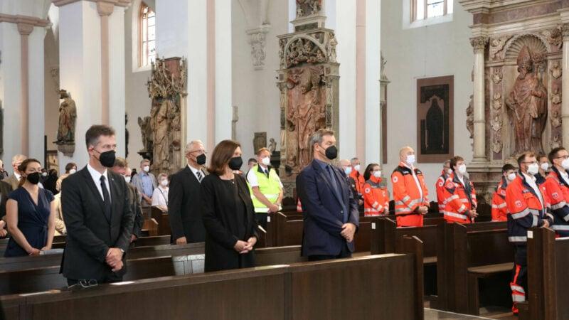 Würzburg nach Messerattacke tief erschüttert
