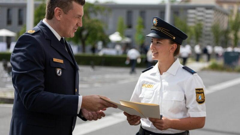 Bereitschaftspolizei-Würzburg-Ausbildung