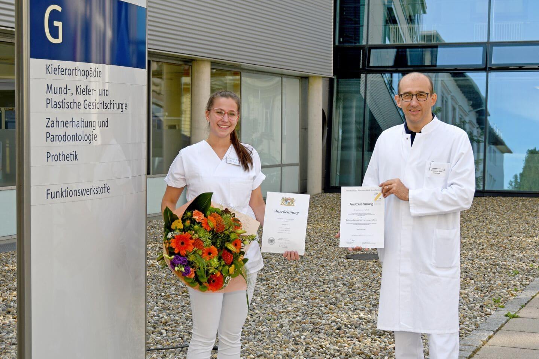 Zahnmedizinische Fachangestellte: Ausbildung mit Auszeichnung