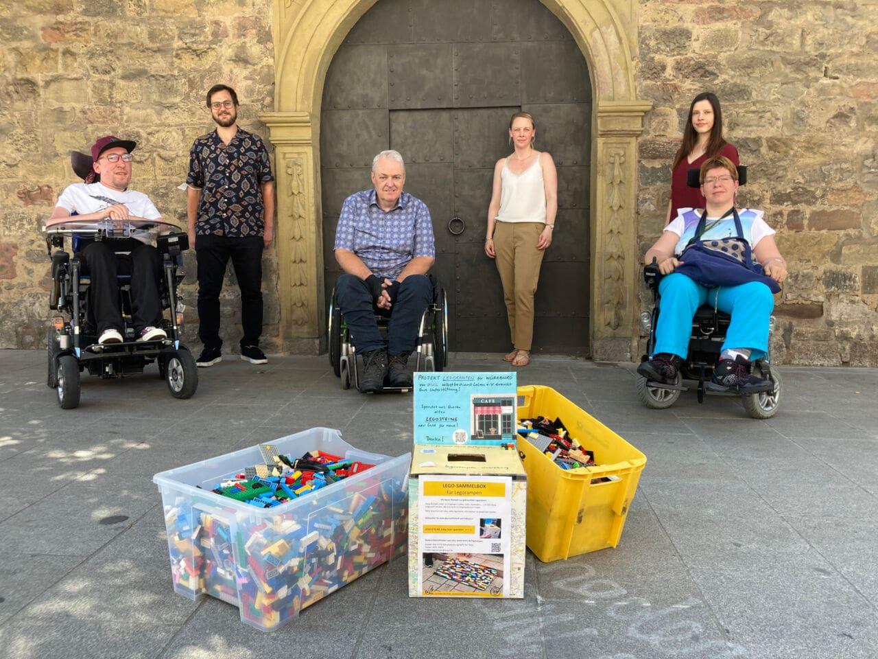 Legorampen: Sammelaktion von Würzburger Kitas und Sozialreferat