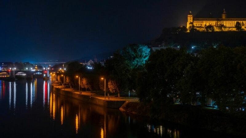 Lichtverschmutzung-Würzburg