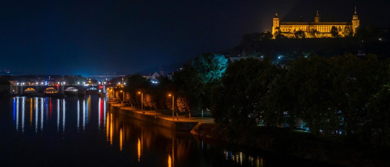 Lichtverschmutzung: Wie hell ist es nachts in Würzburg?