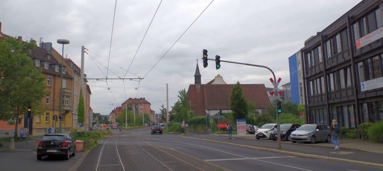 Sanderau: ein Stadtteil für Studenten und Senioren