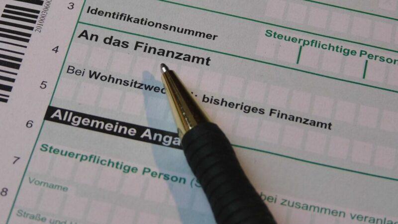 Steuererklärung-Rentner