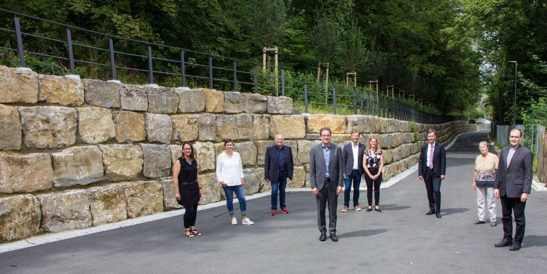 Spittelbergweg und Johannisweg: Beliebter Weg zum Käppele erneuert