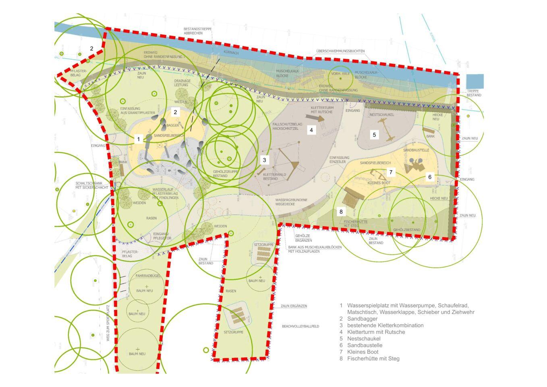 So cool wird der neue Wasserspielplatz in Lengfeld