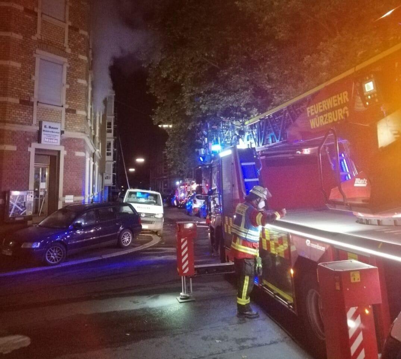 Zimmerbrand in Grombühl: Bewohner hatten Glück