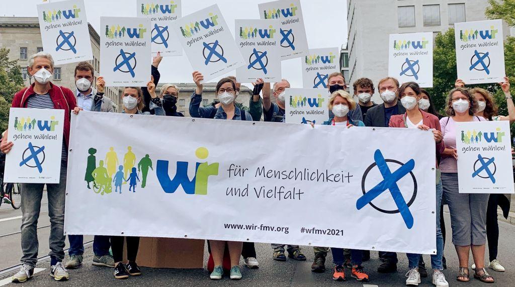 Bundestagswahl 2021: Aktion gegen Diskriminierung