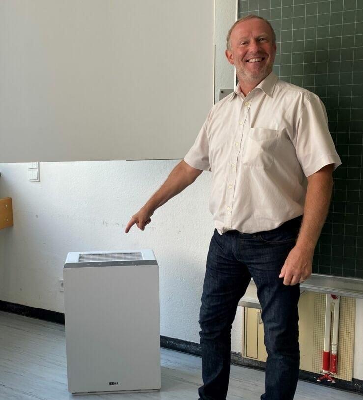 Luftfilter: Keine dicke Luft im Matthias-Grünewald-Gymnasium
