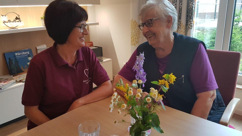 Tagespflege im Marie-Juchacz-Haus: Betreuung und Entlastung