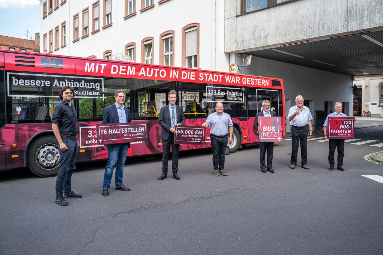 ÖPNV in Würzburg mit neuem Fahrplan auf der Überholspur: BUSNETZ+