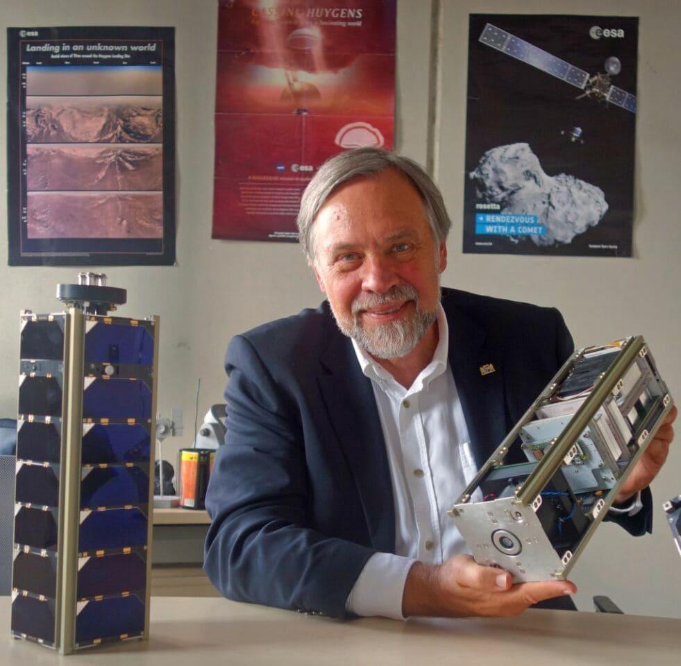 Raumfahrtpreis an Klaus Schilling verliehen