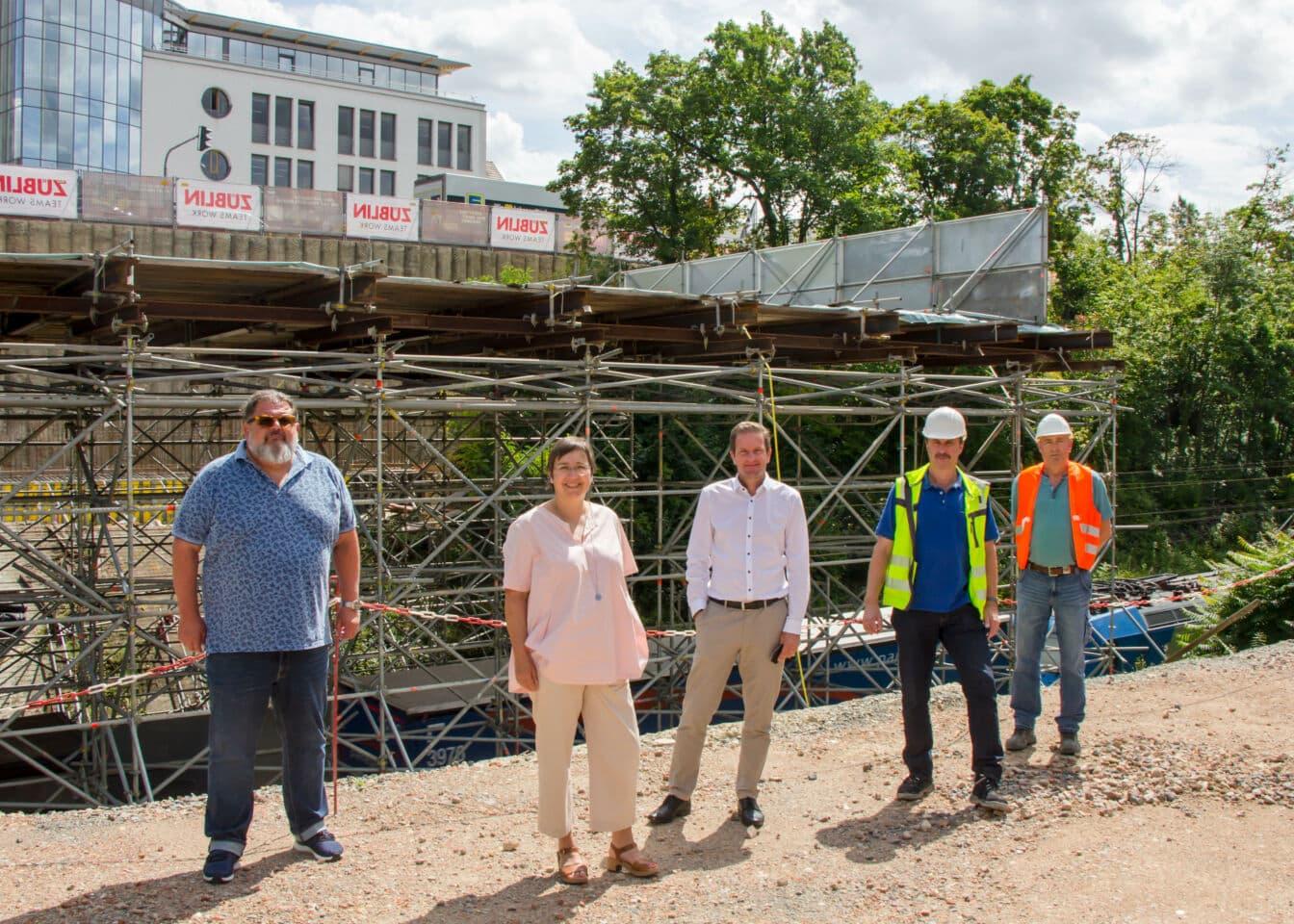 "Siligmüllerbrücke: Baustelle liegt laut Rathaus ""gut im Zeitplan"""