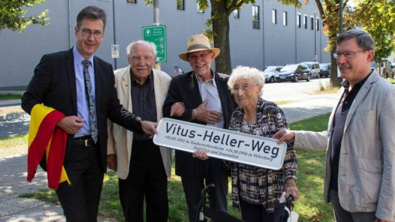 Vitus-Heller-Weg-Würzburg